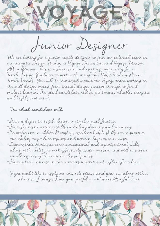 junior designer (Large)