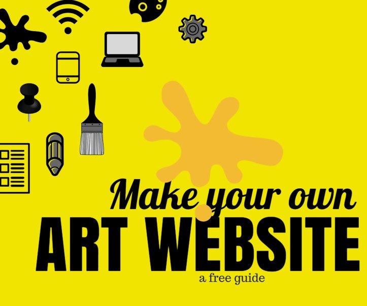 how-make-artist-website